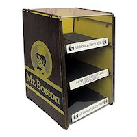Mr. Boston Liquor Advertising Display Case