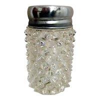 Glass Salt Shaker Staggered Beads Single American Glass Shaker