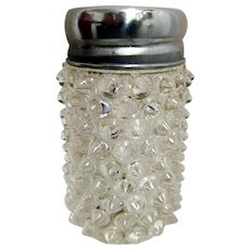 Glass Salt Shaker Staggered Beads Single American Glass Shaker