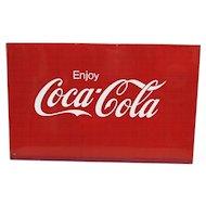 Advertising Sign Metal Coca Cola