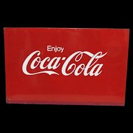 Advertising Sign Metal Coca Cola