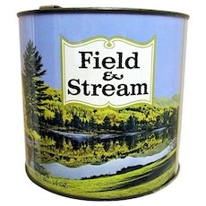 Advertising Tin Field and Stream Tobacco Tin Mint