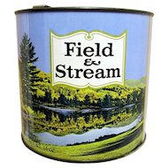 Field and Stream Tobacco Advertising Tin