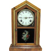 Waterbury Florence Model Mantel Clock Fully Restored 8 Day