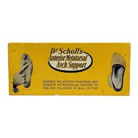 Pharmacy Dr. Scholls Arch Support Drugstore Retail Box Drugstore