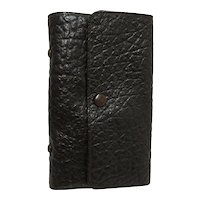Leather Fly Fishing Wallet by F. H. Pope