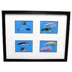 Fly Fishing Flies Framed