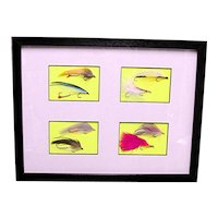 Framed Fly Fishing Flies