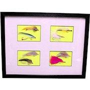 Framed Fly Fishing Flies