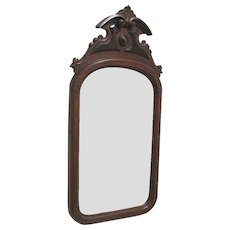SOLD     Antique American Wall Mirror