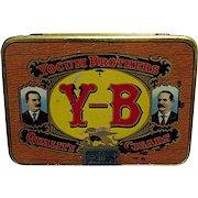 Yocum Brothers Pocket Cigar Advertising Tin