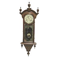 Antique New Haven Wall Clock Winnipeg Model