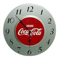 Original Metal Coca Cola Advertising Wall Clock