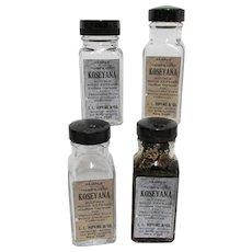 4 Sample Pharmacy Bottles of Hopkins  Koseyana