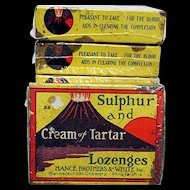 Cream of Tartar Lozenges