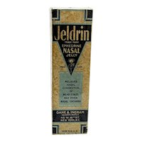 Pharmacy Jeldrin Nasal Jelly Unopened MINT in Original Box