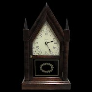 American Made Mantle Clock Runs and  keeps Time