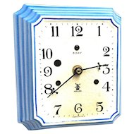 Miller Porcelain Wall Clock WORKS & KEEPS TIME