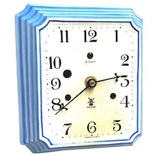 SOLD   See ther clocks ON SALE   Miller Porcelain Wall Clock WORKS & KEEPS TIME