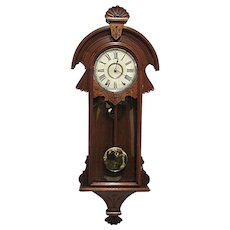 50% Off Sale New Haven Chiming Wall Clock Original Restored Condition