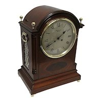 Antique Mantel Clock Inlaid French Regency Bracket Clock Or Mantle Clock Tiffany