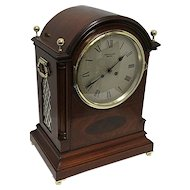 Tiffany Inlaid French Regency Bracket Clock Or Mantle Clock