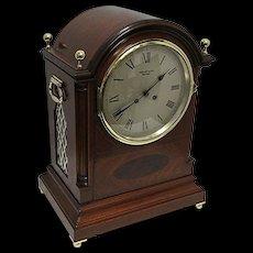 Tiffany Inlaid French Regency Bracket Clock Or Mantle Clock