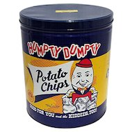 Humpty Dumpty Potato Chip Tin