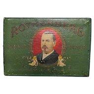 Rothenberg Pocket Cigar Advertising Box