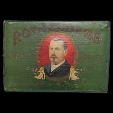 Rothenberg Pocket Cigar Advertising Box