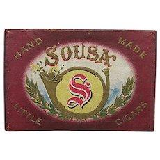 Sousa Advertising Pocket Cigar Box