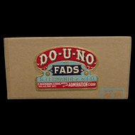 DO-U-NO Advertising Pocket Cigar Box