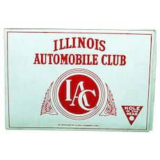 Advertising Pocket Cigar Box Illinois Automobile Club Mint
