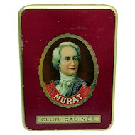 MURAT Pocket Advertising Cigar Tin
