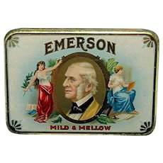 Emerson Pocket Advertising Cigar Tin