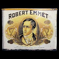 Robert Emmet Pocket Advertising Cigar Tin