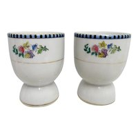 Noritake Egg Cups Sheridan Pattern A PAIR