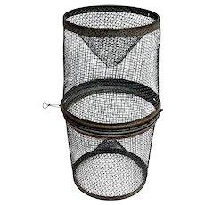 Fishing Minnow Trap Metal Cage