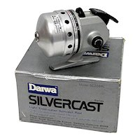 Fishing Reel with Box Daiwa Silvercast SC208RL