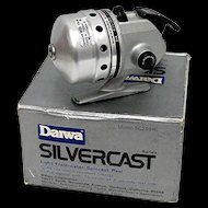 Daiwa Silvercast Spin Cast Fishing Reel with Box