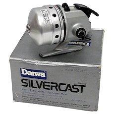 Daiwa Silvercast Spin Cast Fishing Reel with Box