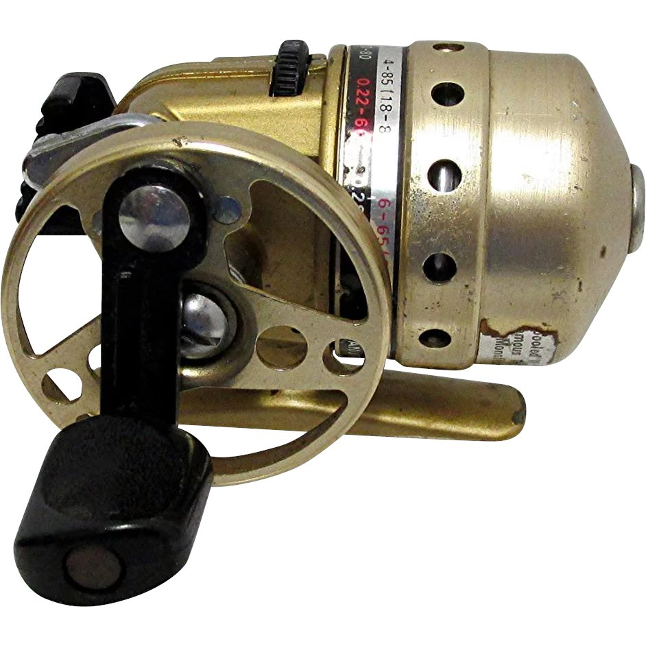 75f6793c216 SOLD See more ON SALE Daiwa MiniCast Gold Fishing Reel : Drury House  Antiques | Ruby Lane