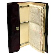 Fly Fishing Wallet Marked K & L Unused