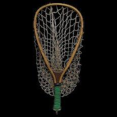 Fly Fishing Wood Trout Net