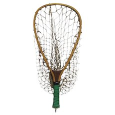 Fly Fishing Wood Trout Net