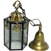Antique Hanging Lamp One Fixture    a Pair is Available