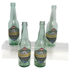 Advertising Soda Bottle Donner Ginger Ale Bottle Truckee Soda Works California