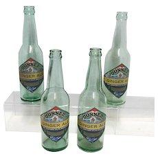 Soda Bottle Donner Ginger Ale Bottle Truckee Soda Works California