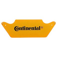 Original Advertising Sign Continental Tire MINT in Metal
