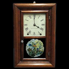 SOLD   SEE OTHER CLOCKS FOR SALE   Miniature Seth Thomas 8 day Chiming Wall Clock - Red Tag Sale Item